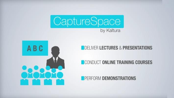 Kaltura CaptureSpace
