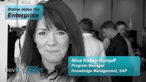 Best Practices to Using Video in Social Enterprises   SAP & Kaltura