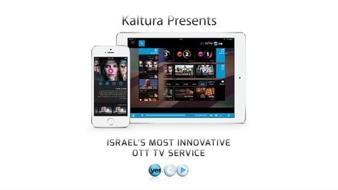 Thumbnail for entry yes GO - Powering Multi-Screen OTT TV