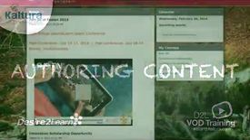 Thumbnail for entry Authoring Content | BrightSpace Tutorial
