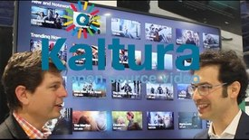 Thumbnail for entry NAB Kaltura Intro Interview with Iddo Shai VP of Product Marketing