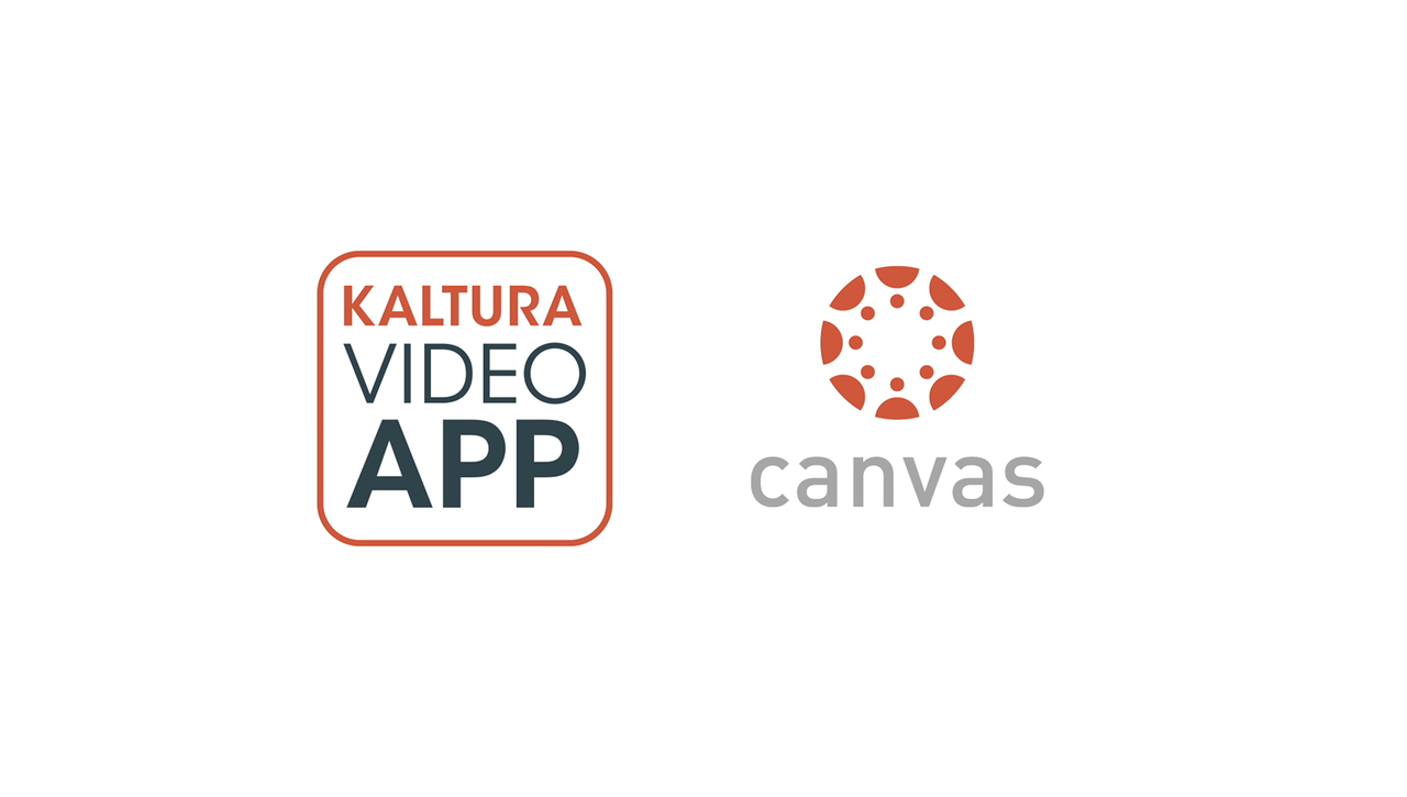 Kaltura Video App For Canvas