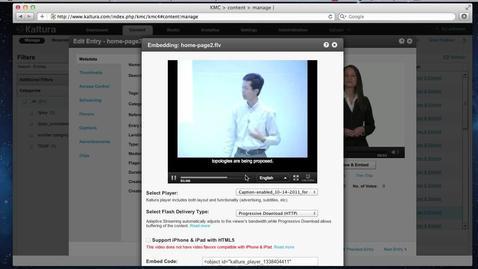 Kaltura and 3Play Media Integration | Video Tutorial