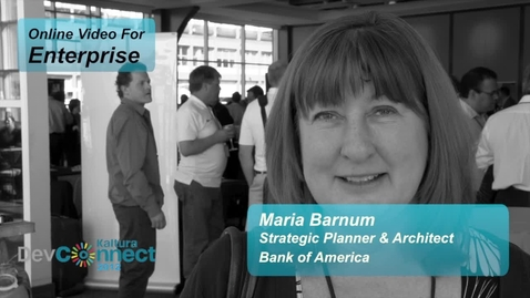 Thumbnail for entry The Social Enterprise Trends | Bank of America & Kaltura