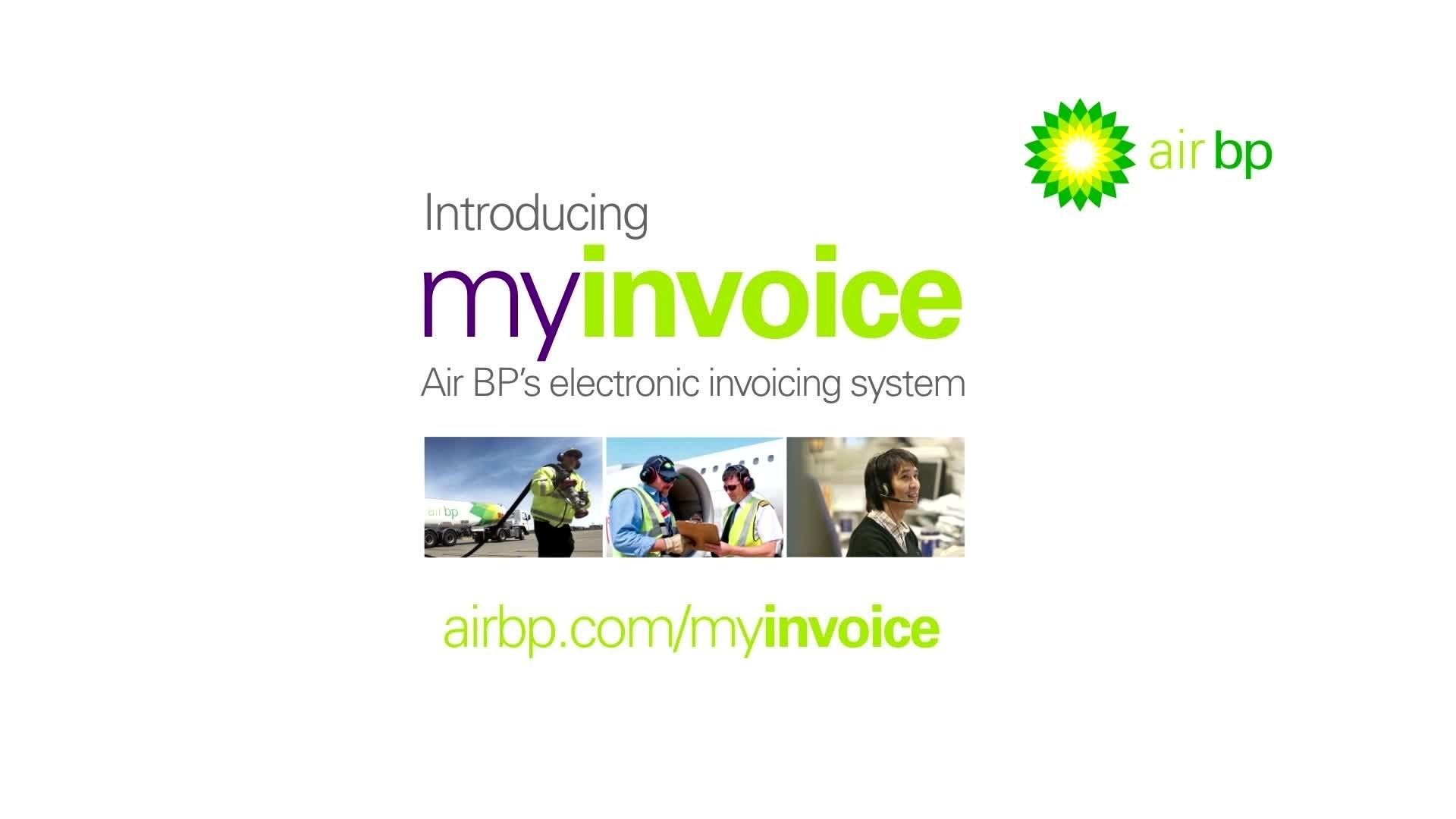 myinvoice customer area air bp