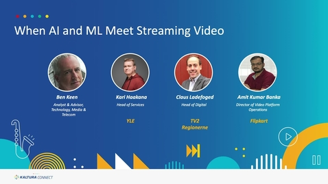 Thumbnail for entry When AI and ML Meet Streaming Video