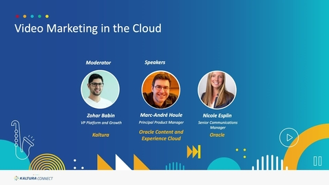 Thumbnail for entry Video Marketing in the Cloud