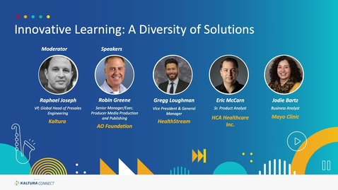 Thumbnail for entry Innovative Learning: A Diversity of Solutions
