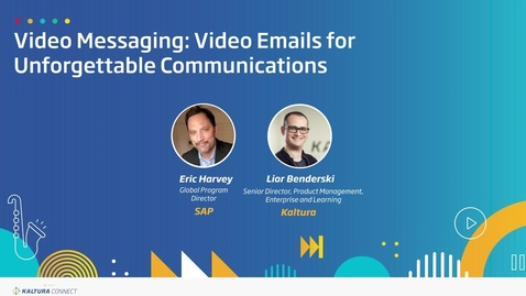 Thumbnail for entry Video Messaging- Video Emails for Unforgettable Communications