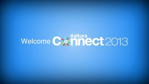 Thumbnail for entry Kaltura Connect 2013 by the Numbers