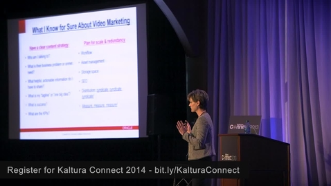 """Thumbnail for entry """"12 Principles of Video Marketing for Enterprise"""" 