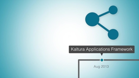 Thumbnail for entry Kaltura Roadmap 2013 and Beyond
