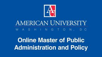 Master of Public Administration and Policy | American
