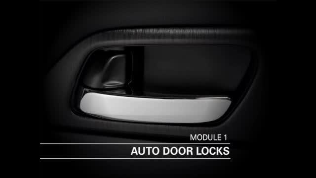 custom auto door lock options