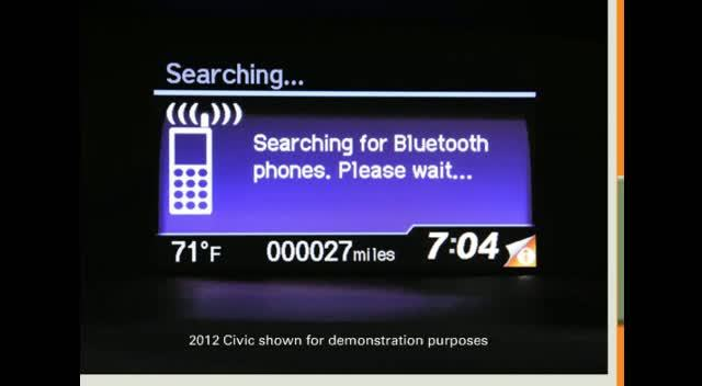 bluetooth handsfreelink 2012 honda cr v honda owners site