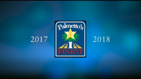 still of video titled Palmetto's Finest Awards 2017-2018