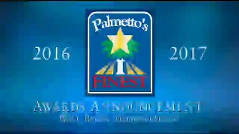 still of video titled Palmetto's Finest Awards 2016-2017