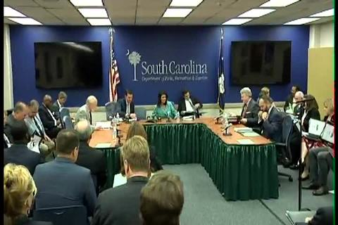 still of video titled S.C. State Fiscal Accountability Authority Meeting: September 20, 2016