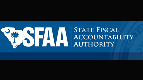 still of video titled S.C. State Fiscal Accountability Authority Meeting: August 25,2015