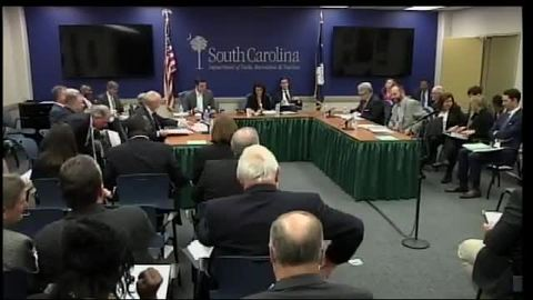 still of video titled S.C. State Fiscal Accountability Authority Meeting: November 7, 2016