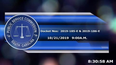 still of video titled 10/21/19 -  2019-185-E, 2019-186-E