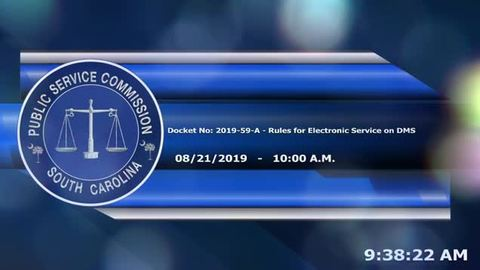 still of video titled 8/21/19 - Act 62 Rulemaking