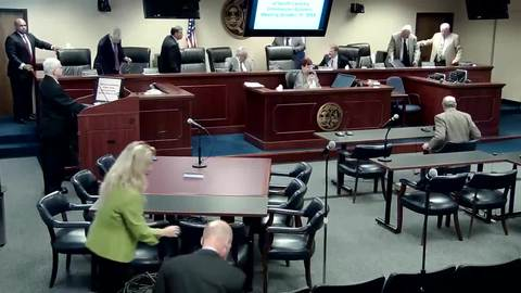 still of video titled 10/31/2018 - Public Service Commission Business Meeting