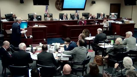 still of video titled Part 2 - 11/2/18  - SCE&G Company Hearings