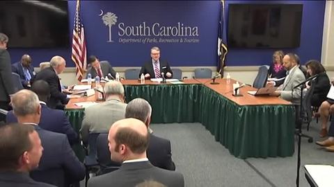 still of video titled S.C. State Fiscal Accountability Authority Meeting: June 27, 2018