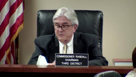 still of video titled 8/15/2018 - Public Service Commission Business Meeting