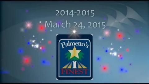 still of video titled Palmetto's Finest Awards 2014-2015