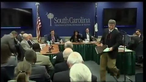 still of video titled S.C. State Fiscal Accountability Authority Meeting: December 13, 2016