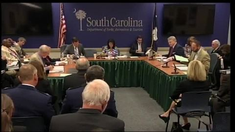 still of video titled S.C. State Fiscal Accountability Authority Meeting: August 23, 2016