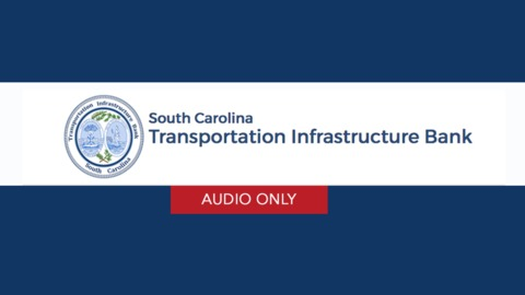 still of video titled S.C. Transportation Infrastructure Bank Meeting April 2, 2020