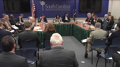 still of video titled S.C. State Fiscal Accountability Authority Meeting: Jan. 26, 2016