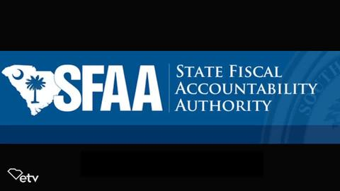 still of video titled S.C. State Fiscal Accountability Authority Meeting: June 30, 2020