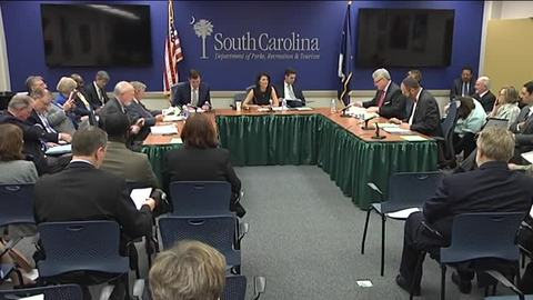 still of video titled S.C. State Fiscal Accountability Authority Meeting: March 8, 2016
