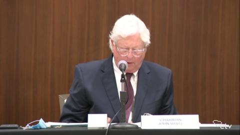 still of video titled S.C. Transportation Infrastructure Bank Meeting July 7, 2020