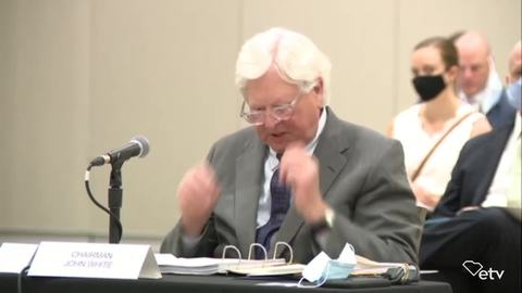 still of video titled S.C. Transportation Infrastructure Bank Meeting July 6, 2020
