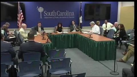 still of video titled S.C. State Fiscal Accountability Authority Meeting: September 9, 2016