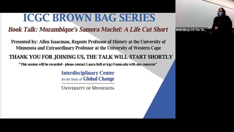 Thumbnail for entry ICGC Brown Bag Series: Allen Isaacman