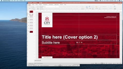 Thumbnail for entry Screencasting Mac Quicktime Tutorial