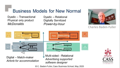 Thumbnail for entry Business Model Response to COVID-19 -  Professor Charles Baden-Fuller
