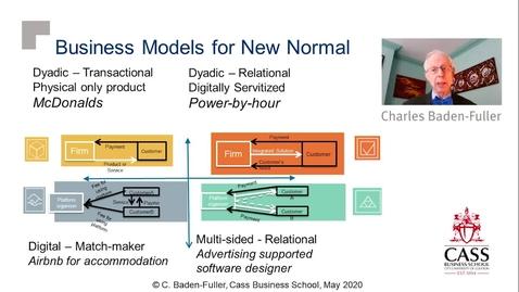 Thumbnail for entry Business Model Response to COVID-19 -  Professor Charles Baden-Fuller
