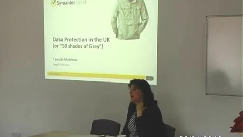 Thumbnail for entry Data Protection in the UK - Media Law Session 15