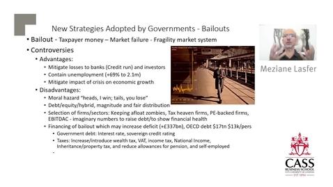 Thumbnail for entry Financial Strategies Companies Adopt in Financial Distress (Part 2) - Professor Meziane Lasfer