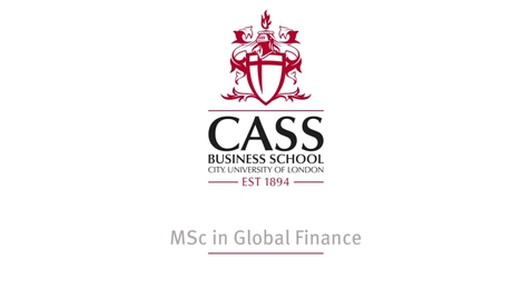 Thumbnail for entry How you will learn on the MSc in Global Finance online course
